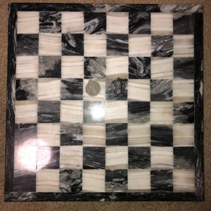 Vintage Marble Chess Set And Board for Sale in Chino, CA
