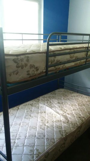 Metal bunk bed for Sale in West Valley City, UT