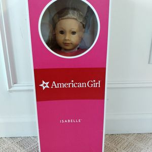 Brand New, Retired American Girl Doll Of The Year Isabelle Palmer for Sale in Puyallup, WA