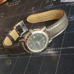 Burberry BU1355 Black Dial Black Leather Strap 26 mm Women Wrist Watch Sapphire Crystal Quartz Swiss!!! for Sale in Portland,  OR