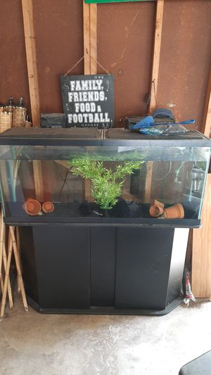 55 Gallon Fish Tank With Stand for Sale in Wahneta, FL