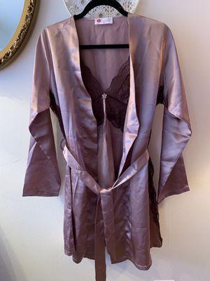 100% silk nightgown . Made in Turkey . Size M for Sale in Fairfax, VA