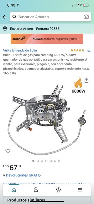 Camping stove for Sale in Fontana, CA