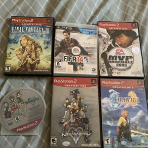 Ps2 And Ps3 Games for Sale in Concord, CA