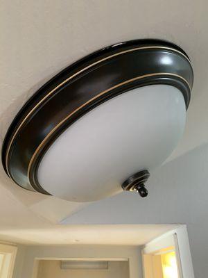 Oil rubbed bronze ceiling light fixture for Sale in Chula Vista, CA