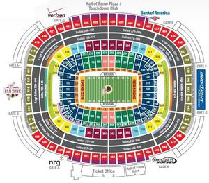 Lower Level 49ers vs Redskins Tickets PLUS Parking Pass for Sale in Portsmouth, VA