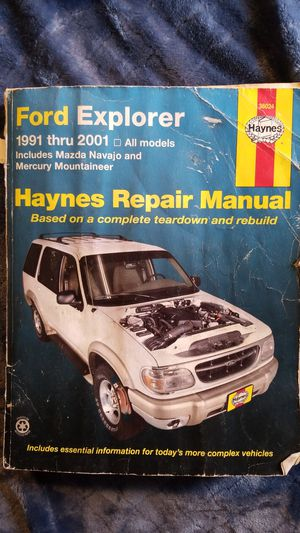 Ford Explorer repair manual for 1991-2001 for Sale in Morrison, CO