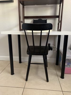IKEA Desk and chair for Sale in Tampa, FL