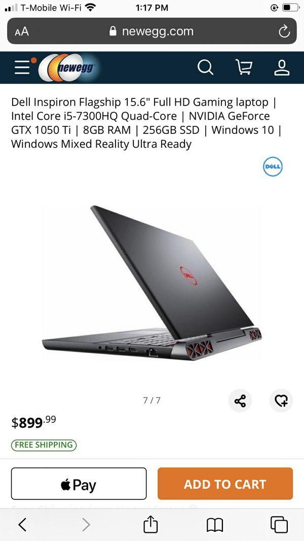 Dell Inspiron Gaming Laptop 15 Bundle