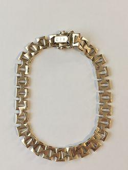 "71/2"" 14KT Vintage Italy Gold Bracelet- 9.2g for Sale in Newton,  MA"
