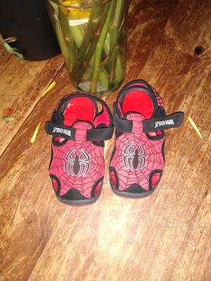 Spiderman shoes 7c for Sale in Crum Lynne, PA
