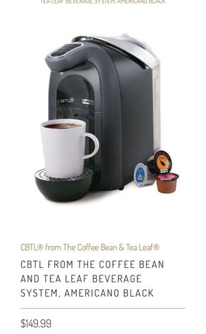CBTL Coffee Machine (Brand New) for Sale in Long Beach, CA