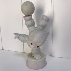 Precious Moments-Clown Doing Handstand-Smile Along The Way-Retired 1991 Vintage for Sale in Carlsbad, CA