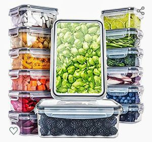 Fullstar (14 Pack) Food Storage Containers with Lids - Plastic Food Containers with Lids - Plastic Containers for Sale in Las Vegas, NV