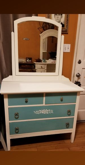 Beautiful all Wood Dresser in excellent Condition (PICKUP ONLY ) for Sale in Whittier, CA