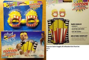 Kids Popcorn Swim Set NEW for Sale in Boca Raton, FL