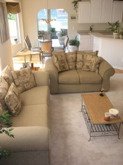 Couch, Loveseat, Chair and Ottoman for Sale in South Lyon,  MI