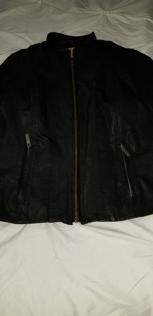 Michael Kors leather jacket for Sale in Babson Park, FL