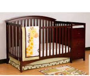 Crib with changing table for Sale in Denver, CO