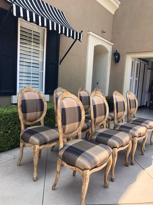 Plaid chairs for Sale in Fullerton, CA