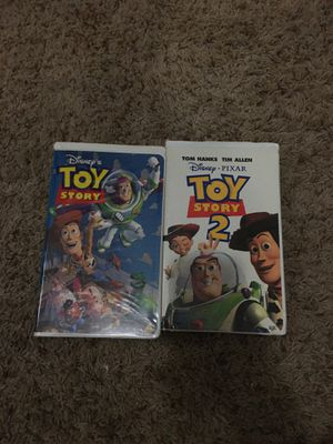 Toy story 1 & 2 Vhs collectibles for Sale in Vancouver, WA