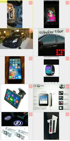 Nissan altima iphone note 5 visors smart watch for Sale in Orlando, FL