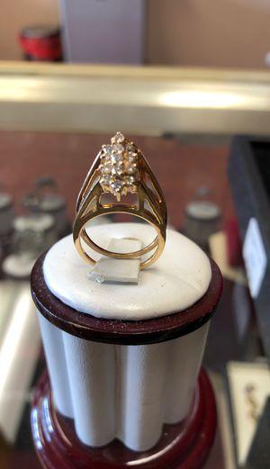 14k ring with diamond 5g for Sale in Trenton, NJ