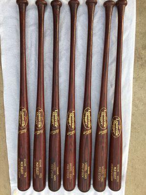 Louisville Slugger MLB Red Maple Wood Pro Model Baseball Bats for Sale in Phoenix, AZ