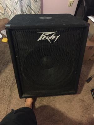 Peavey 18 bass speaker pro audio for Sale in Tallahassee, FL