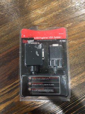 Gigaware USB-Powered VGA Splitter for Sale in Philadelphia, PA