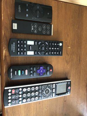 Vizio,Insignia,,TCL Roku TV remotes for Sale in Seattle, WA
