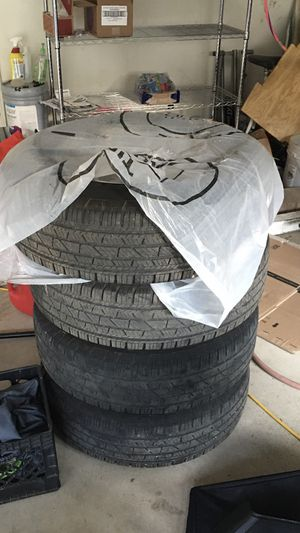 Jeep Wrangler wheels and tires! Set of 4 for Sale in Pittsburgh, PA