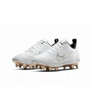 NIKE LUNAR HYPERDIAMOND 2 PRO MCS Womens Softball Cleats White New without box for Sale in Buckhannon, WV