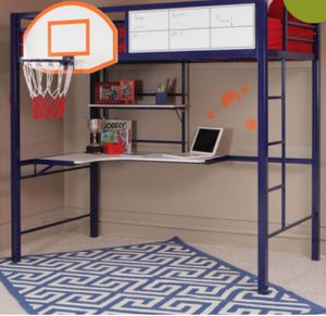 Twin basketball bunk bed for Sale in Kenneth City, FL