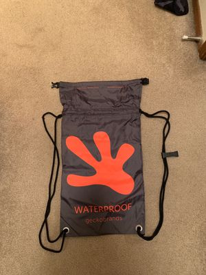 New waterproof Drawstring Backpack GeckoBrands for Sale in Seattle, WA
