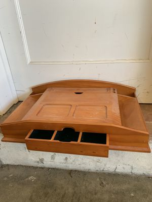 Solid wood desk valet for Sale in Brisbane, CA