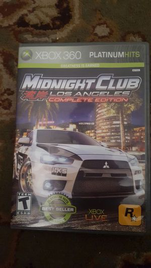 midnight club LA complete edition for Sale in Sanger, CA