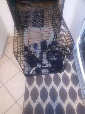 Large dog crate for Sale in Woodland, CA