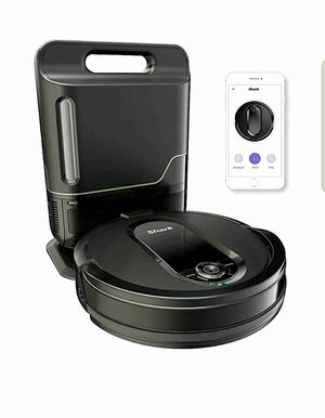 Shark IQ Robot Vacuum with Self-Empty Base and Wi-Fi Home Mapping, with XL Capacity Dust Bin, in Black for Sale in The Bronx, NY