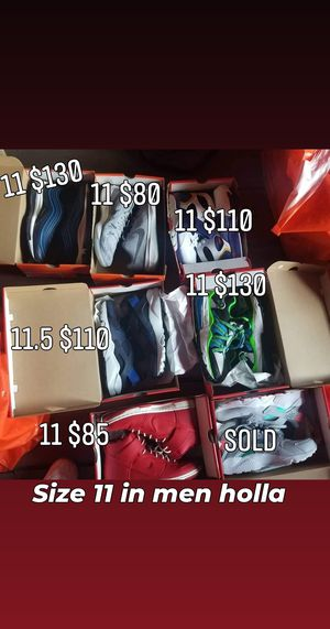 All nike new 11 through 11.5 for Sale in Elizabeth, NJ