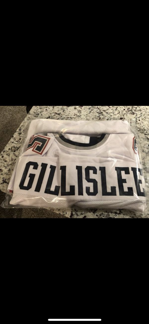 Mike Gillislee Autographed white custom jersey XL JSA certified $120