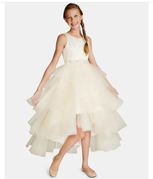 Rare Editions Big Girls Satin Tulle Fairy Dress for Sale in Alexandria, VA