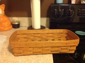 Longaberger Bread basket. Never used for Sale in Puyallup, WA