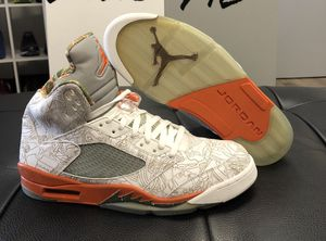 "DS Jordan Retro 5 ""Laser RA"" Size's: 12-13(NO TRADES) for Sale in Pittsburgh, PA"
