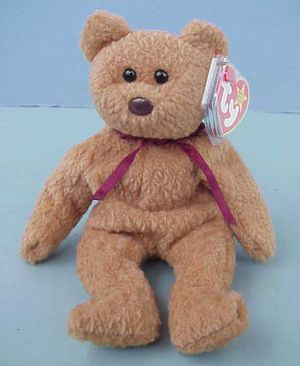 RARE Ty Beanie Baby CURLY the Bear Mint with tag for Sale in Warwick, RI