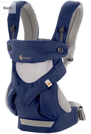 Ergobaby 360 All Positions Baby Carrier: Cool Air Mesh - French Blue for Sale in Glendale, AZ