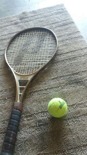 Tennis racket and ball for Sale in Gresham, OR