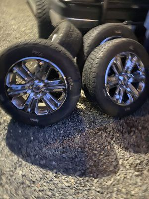 Ford F-150 oem wheels and tires 20 for Sale in Renton, WA