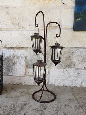 Iron Multi Candle Holder Lantern for Sale in Austin, TX