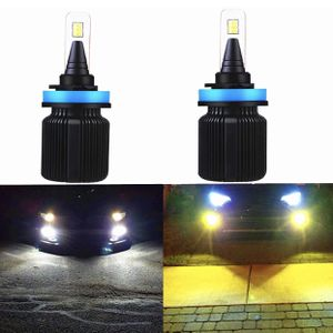 Real Switchback led bulbs / 6k white & 3k yellow/ headlight foglights / Luces led for Sale in Avocado Heights, CA